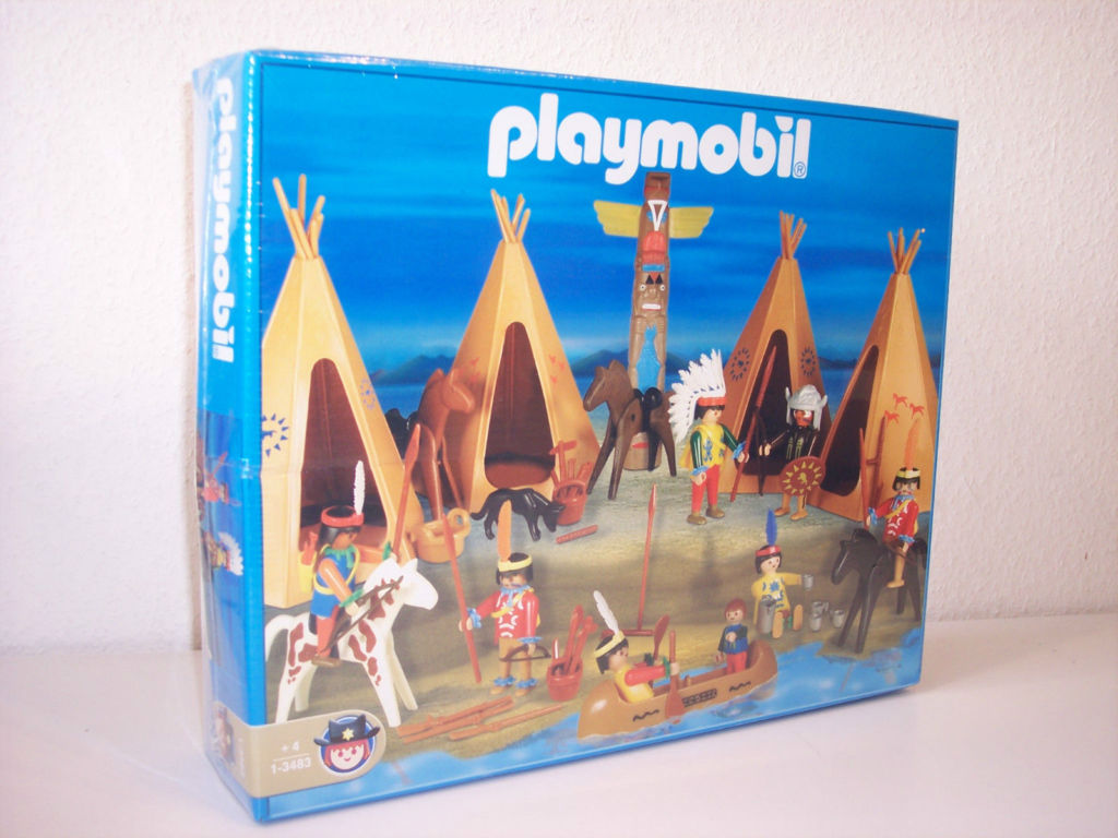 Playmobil 1-3483-ant - Indians Set - Box