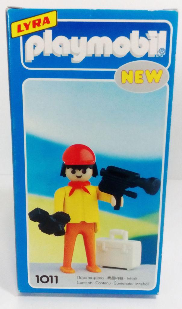 Playmobil 1011-lyr - Cameraman - Box
