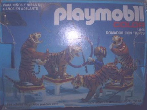 Playmobil 13646-aur - Tiger Trainer - Box
