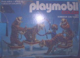 Playmobil - 13646-aur - Tiger Trainer
