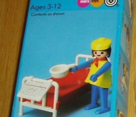 Playmobil - 1742/1-pla - Woman and Hospital Bed