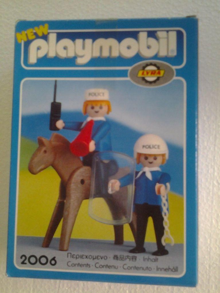Playmobil 2006-lyr - Mounted Police - Box