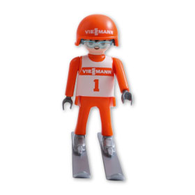 Playmobil 0000v1-ger - Viessmann Ski Jumper - Back