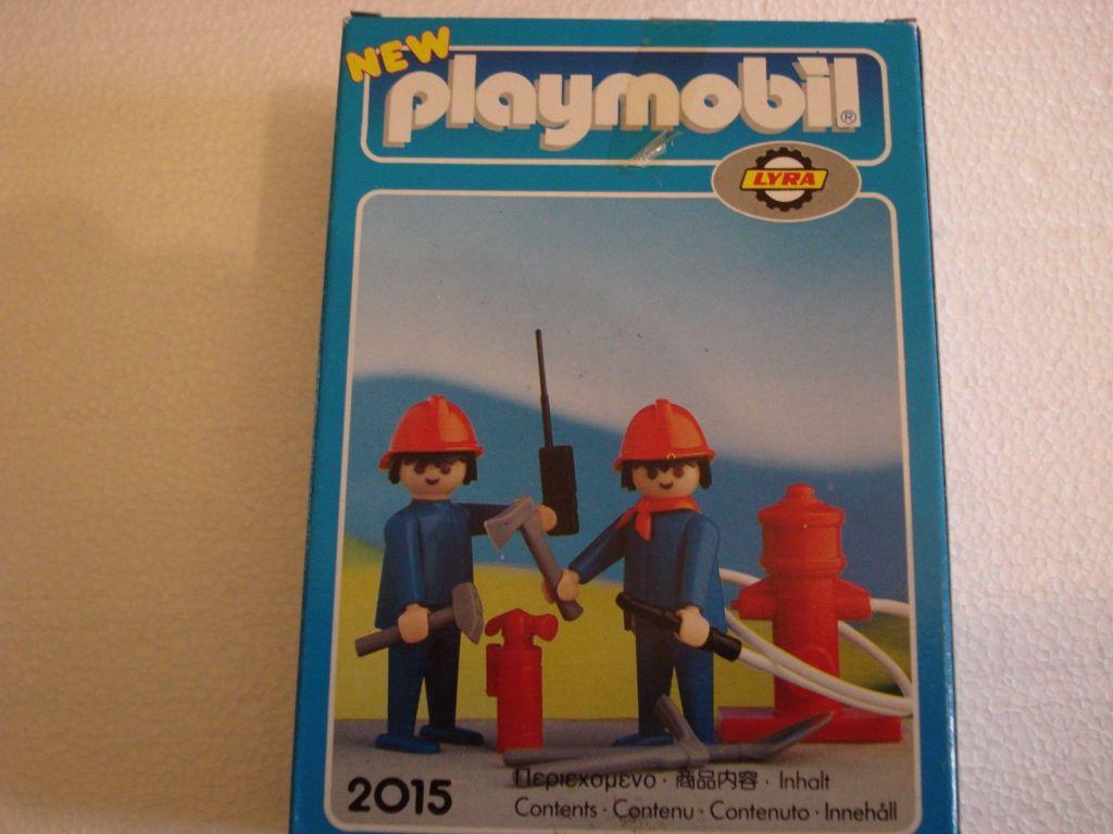 Playmobil 2015-lyr - Firefighters - Box
