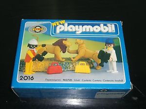 Playmobil 2016-lyr - Lions and Cameramen - Box