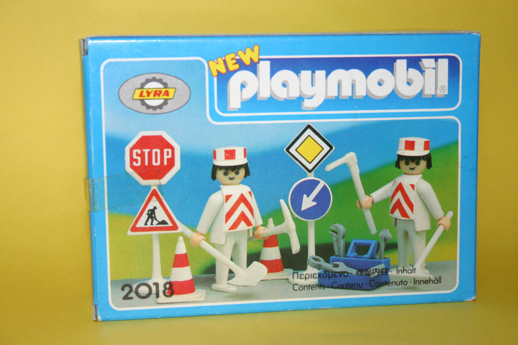 Playmobil 2018-lyr - Construction Workers - Box
