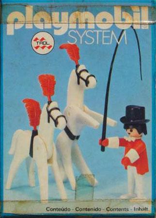 Playmobil 23.77.1-trol - Circus Tamer and Horses - Box