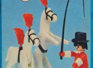 Playmobil - 23.77.1-trol - Circus Tamer and Horses