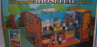 Playmobil - 2507-pla - Little People's Hospital Playset