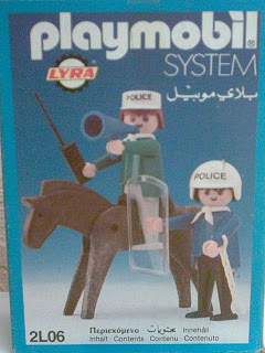 Playmobil 2L06-lyr - Mounted Police - Box