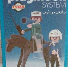 Playmobil - 2L06-lyr - Mounted Police