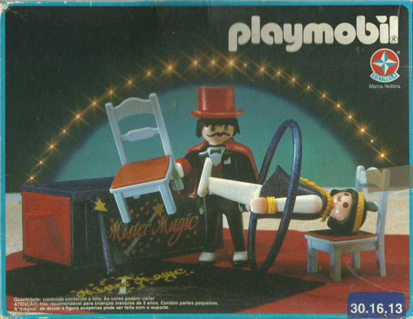 Playmobil 30.16.13-est - Circus Magician - Box