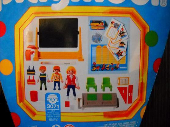 Playmobil 3071-ger - Schultüte - Back