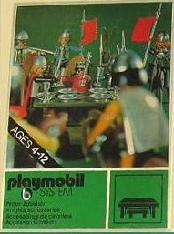 Playmobil 3131s1 - Knights Accessories - Box