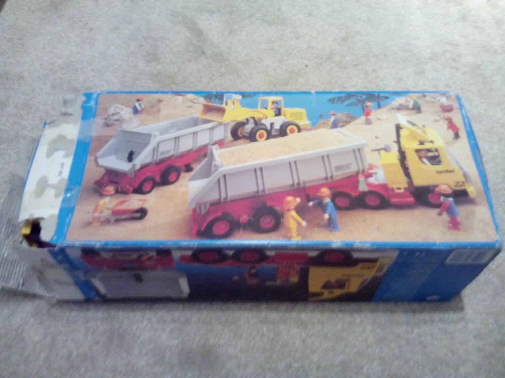 Playmobil 3141 - Large Dump Truck - Back