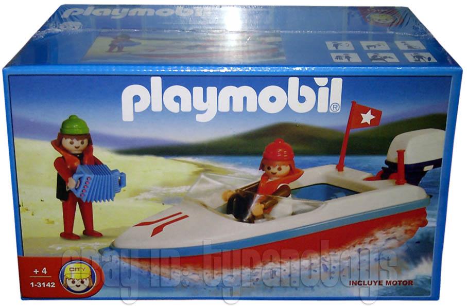 Playmobil 1-3142-ant - boat - Box