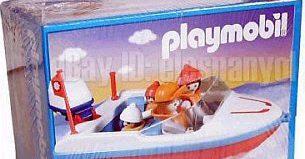 Playmobil - 3142-ant - Motorboat