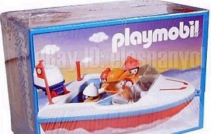 Playmobil - 3142-ant - Motorboat
