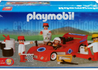 Playmobil - 1-3147-ant - Red Racecar and Crew