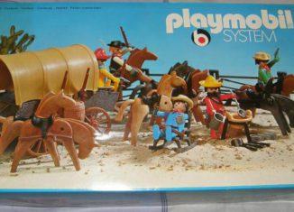 Playmobil - 3154 - Cowboys bivouac & wagon