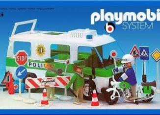 Playmobil - 3155s2 - Police Van & motorbike