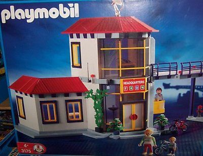 Playmobil 3175s2v2 - Firemen / Fire Station - Box