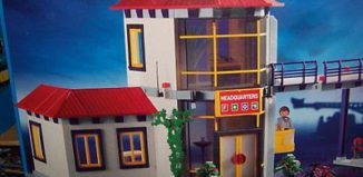 Playmobil - 3175s2v2 - Firemen / Fire Station