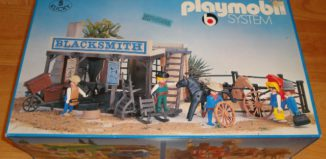 Playmobil - 3182s1 - Western Blacksmith's