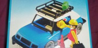 Playmobil - 3210-ant - Blue Car