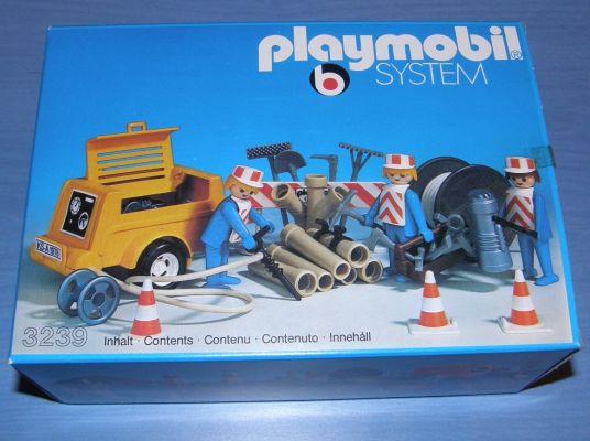 Playmobil 3239s1 - Workers / generator - Box