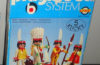 Playmobil - 3251v2-lyr - Indian Family with Canoe