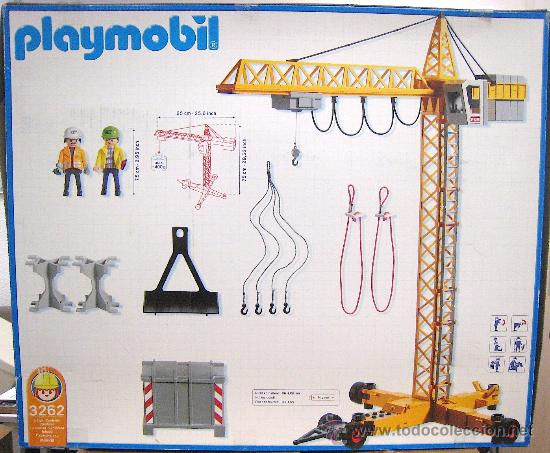 Playmobil 3262s2 - Electronic Crane - Back
