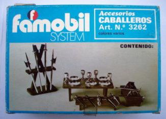 Playmobil - 3262v2-fam - Knights accessories