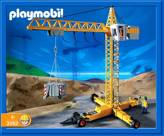Playmobil 3262s2 - Electronic Crane - Box