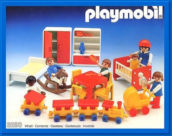 Playmobil 3290 - Kinderzimmer - Box