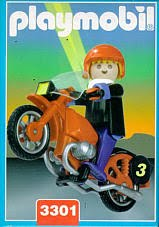Playmobil 3301v1-ant - Motorcycle - Box
