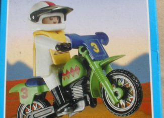 Playmobil - 3301v2-ant - Off-Road Motorcycle