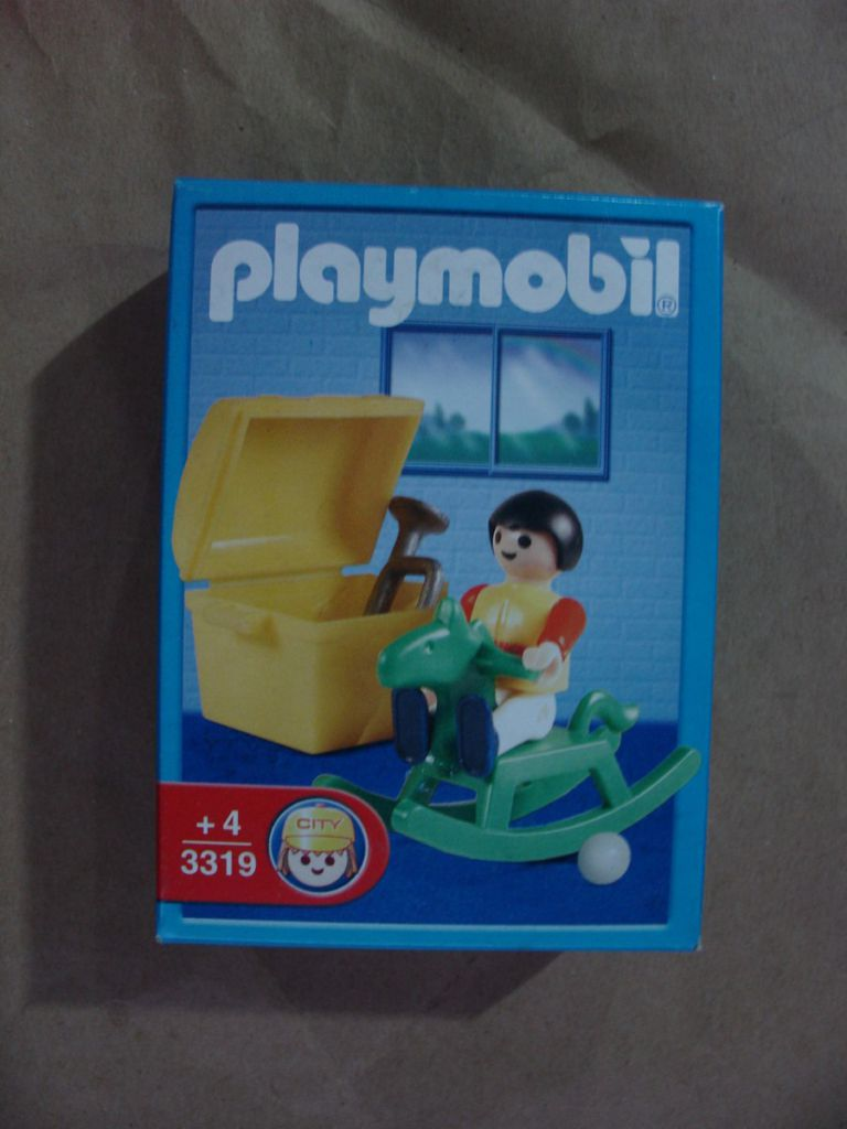 Playmobil 3319-ant - Children with Rocking Horse - Box