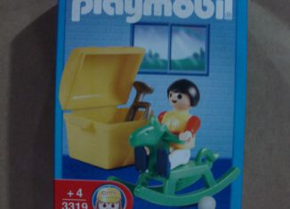 Playmobil - 3319-ant - Children with Rocking Horse