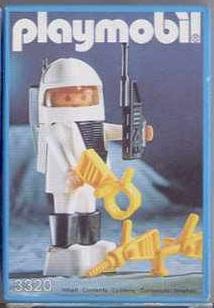 Playmobil 3320-ger - Spaceman - Box