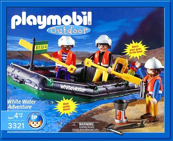 Playmobil 3321s1 - White Water Adventure - Box