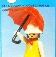 Playmobil - 3322v1-ant - Woman with Umbrella