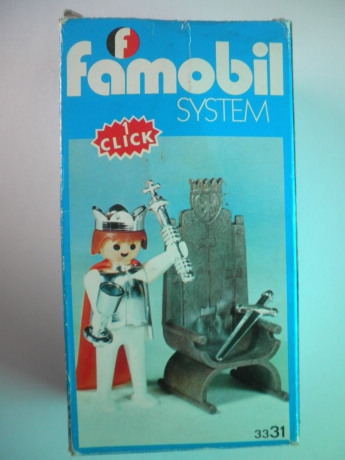 Playmobil 3331v2-fam -  Medieval King - Box