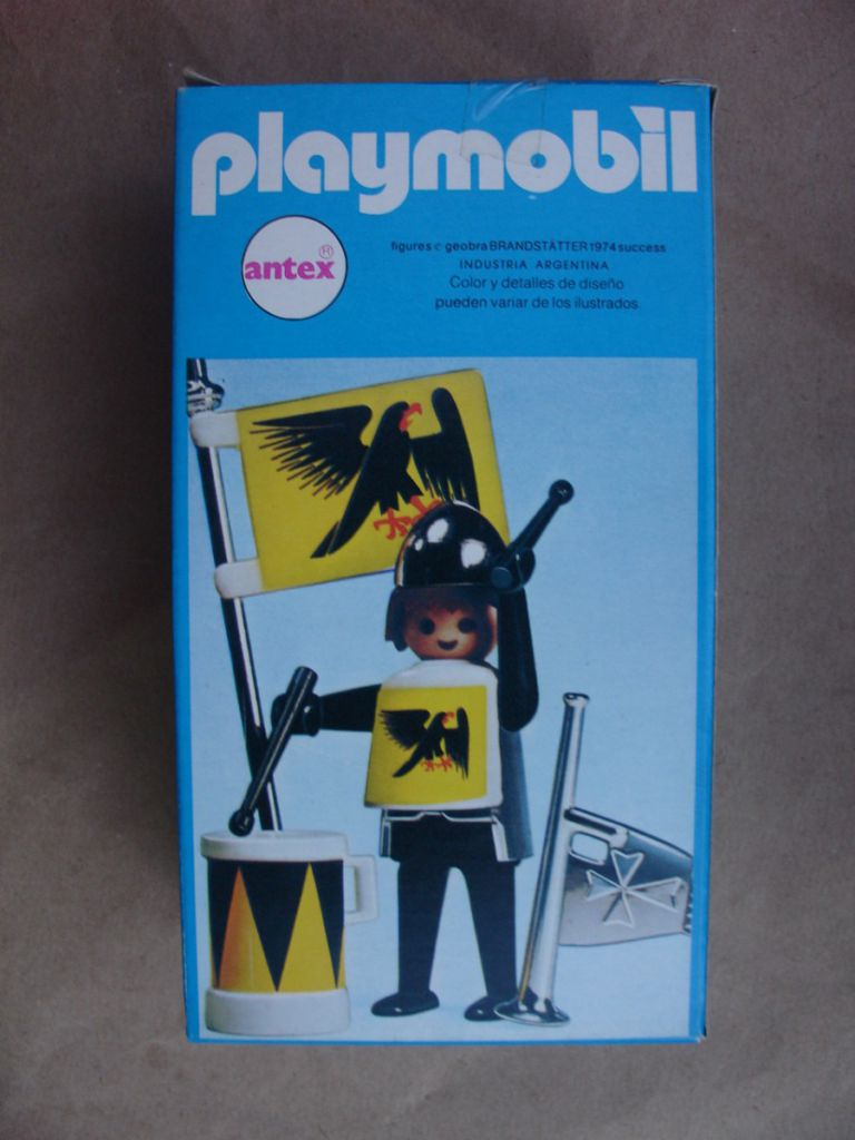 Playmobil 3332-ant - Black and Yellow Herald - Box