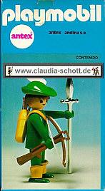 Playmobil 3337-ant - Green Archer - Box