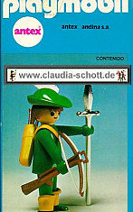 Playmobil - 3337-ant - Green Archer