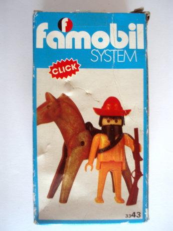 Playmobil 3343v2-fam - Bandido Mexicano - Box