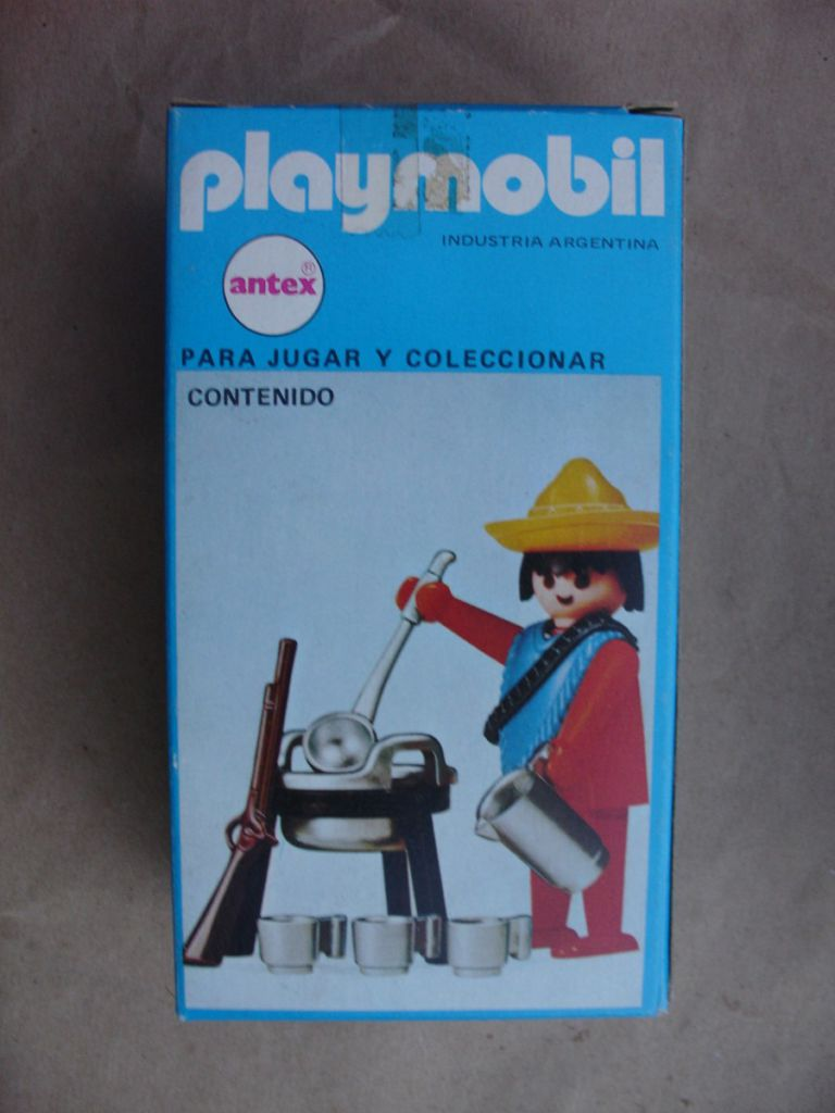 Playmobil 3344-ant - Mexican with Cooking Set - Box