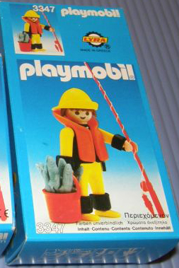 Playmobil 3347-lyr - Fisherman - Box