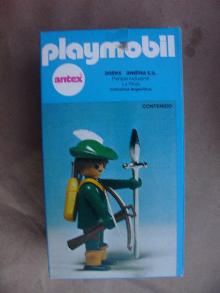 Playmobil 3351-ant - Green Archer - Box